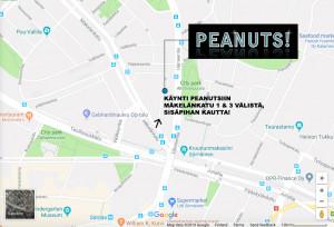 Peanuts-kartta